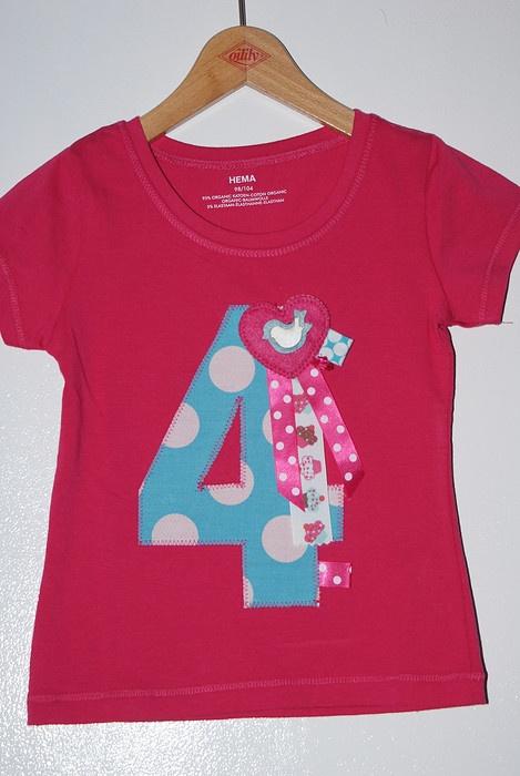 verjaardag shirt voor Tess
