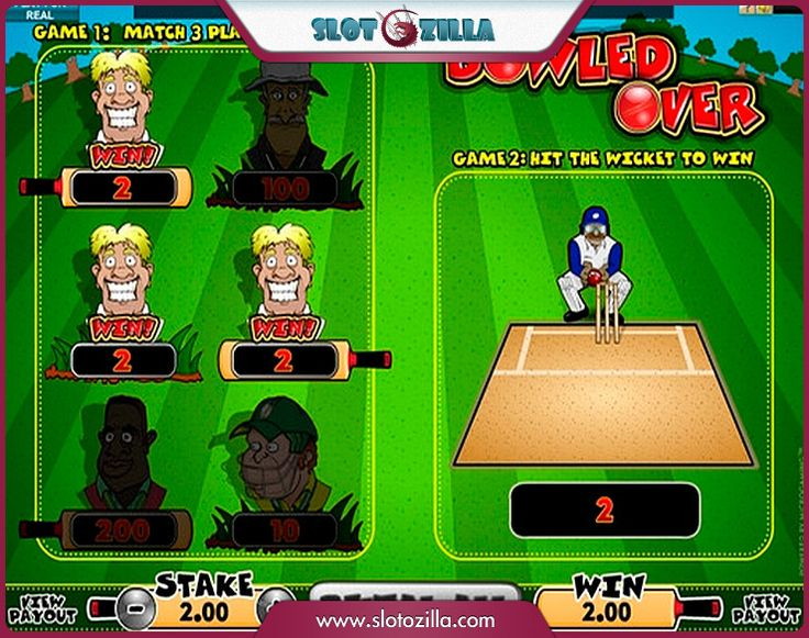 Bowled Over free #slot_machine #game presented by www.Slotozilla.com - World's biggest source of #free_slots where you can play slots for fun, free of charge, instantly online (no download or registration required) . So, spin some reels at Slotozilla! Bowled Over slots direct link: http://www.slotozilla.com/free-slots/bowled-over-2