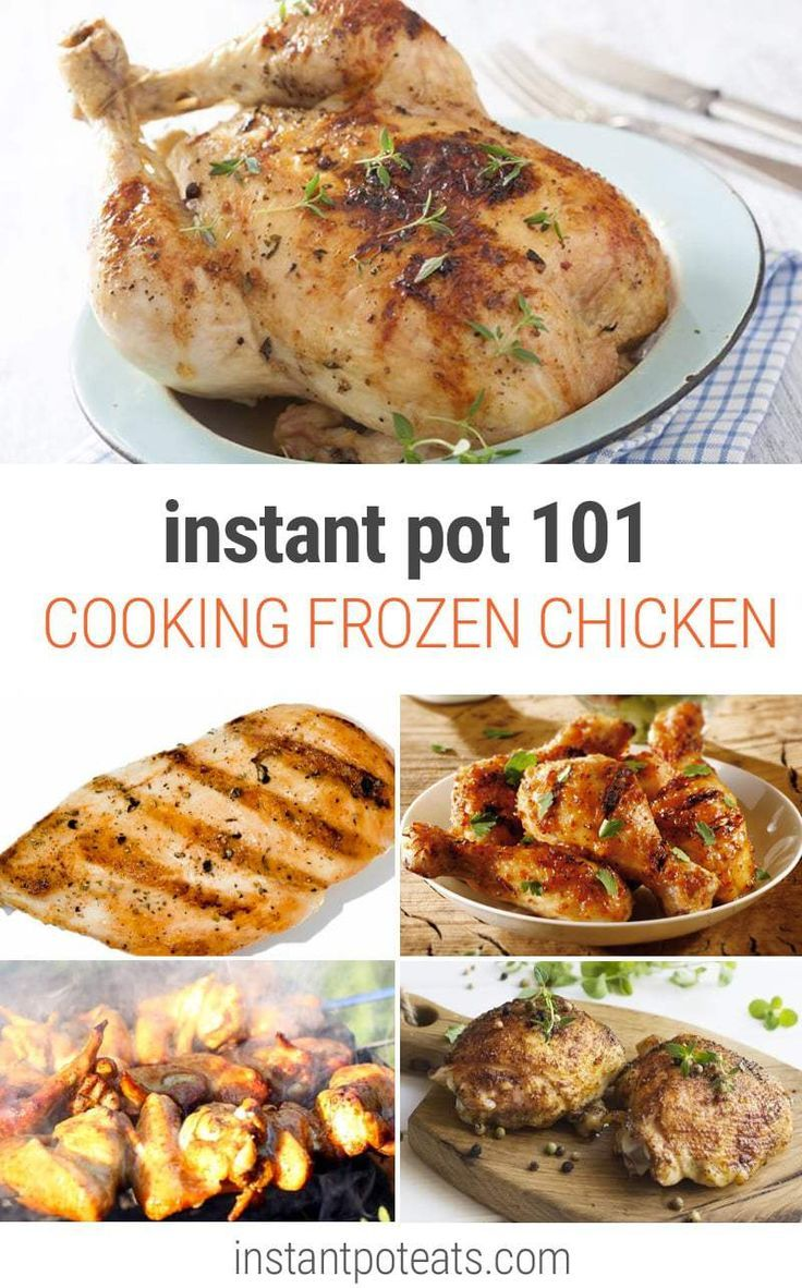How Long To Cook Frozen Chicken Breast In Instant Pot How To Cook Instant Pot Frozen Chicken Instant Pot Eats Cooking Frozen Chicken Instant Pot Recipes Chicken Cooking Whole Chicken