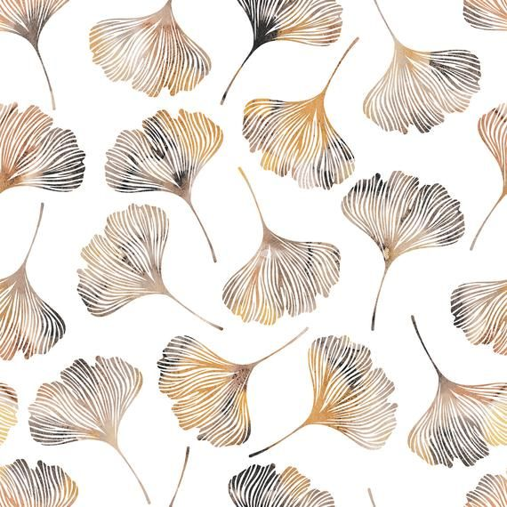 High Quality Peel And Stick Removable Self Adhesive Wallpaper Modern Gingko Leaves Pattern Choose From 4 Color Ways In 2020 Gingko Leaves Wallpaper Self Adhesive Wallpaper