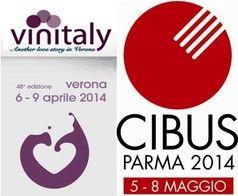 C'è grande attesa per i due più grandi eventi del settore agroalimentare italiani: Vinitaly a Verona dal 6 al 9 Aprile e Cibus a Parma dal 5 all'8 Maggio.  http://www.italianfoodexcellence.tv/vinitaly-2014-e-cibus-2014/