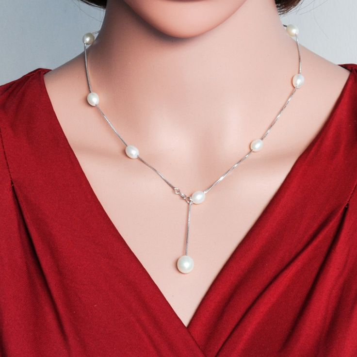 Freshwater Pearl Necklace - Free Shipping Worldwide