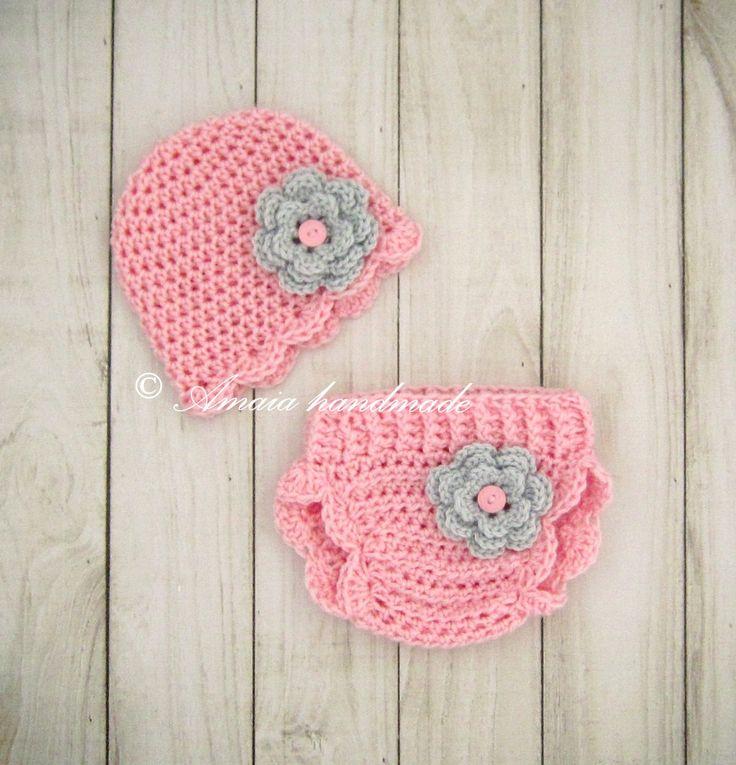 20 best Crochet diaper covers images on Pinterest | Fundas de ...