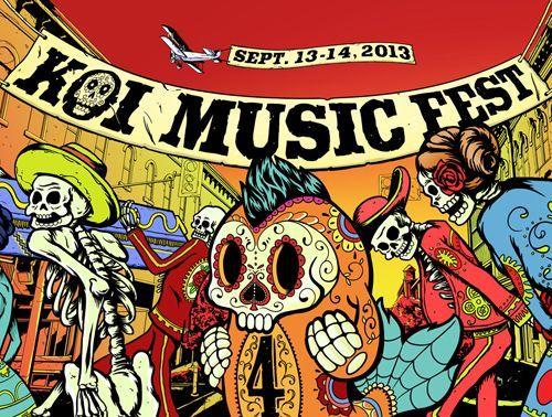 Koi Music Festival  September 13-14, 2013  Kitchener, Ontario