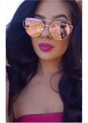 Kupuj mé předměty na #vinted http://www.vinted.cz/doplnky/slunecni-bryle/12749727-uplne-nove-ruzove-zrkadlovky-cat-sunglasses