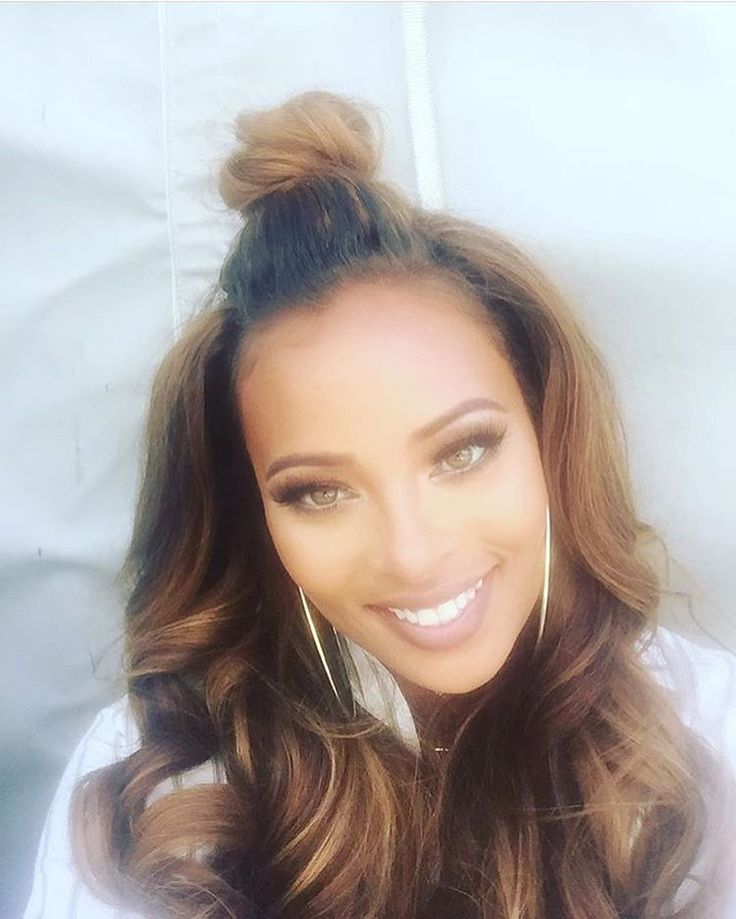 Model Actress Eva Marcille...I'm wanting this hair color