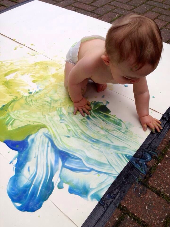 25 best ideas about finger paint art on pinterest for Crafts for 14 month old