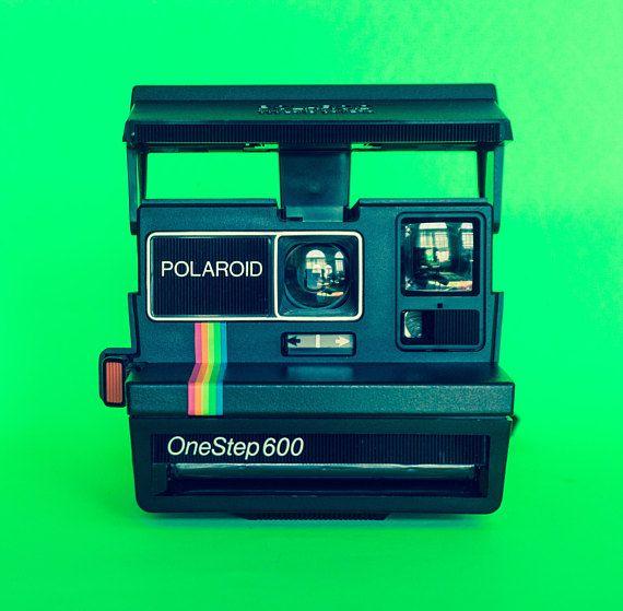 Vintage Polaroid One Step 600