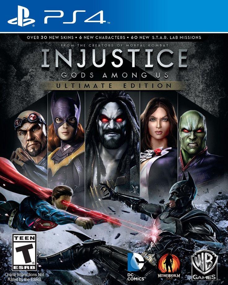 Ahora disponible (PS4) Injustice: Gods Among Us - Ultimate Edition Nuevo Sellado.