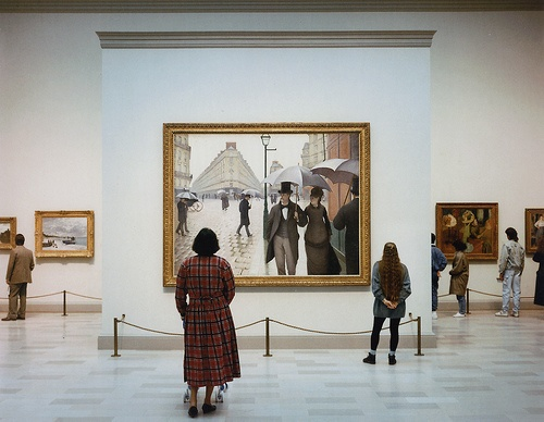 Art Institute Of Chicago II, Chicago 1990 Photographer: Thomas Struth.