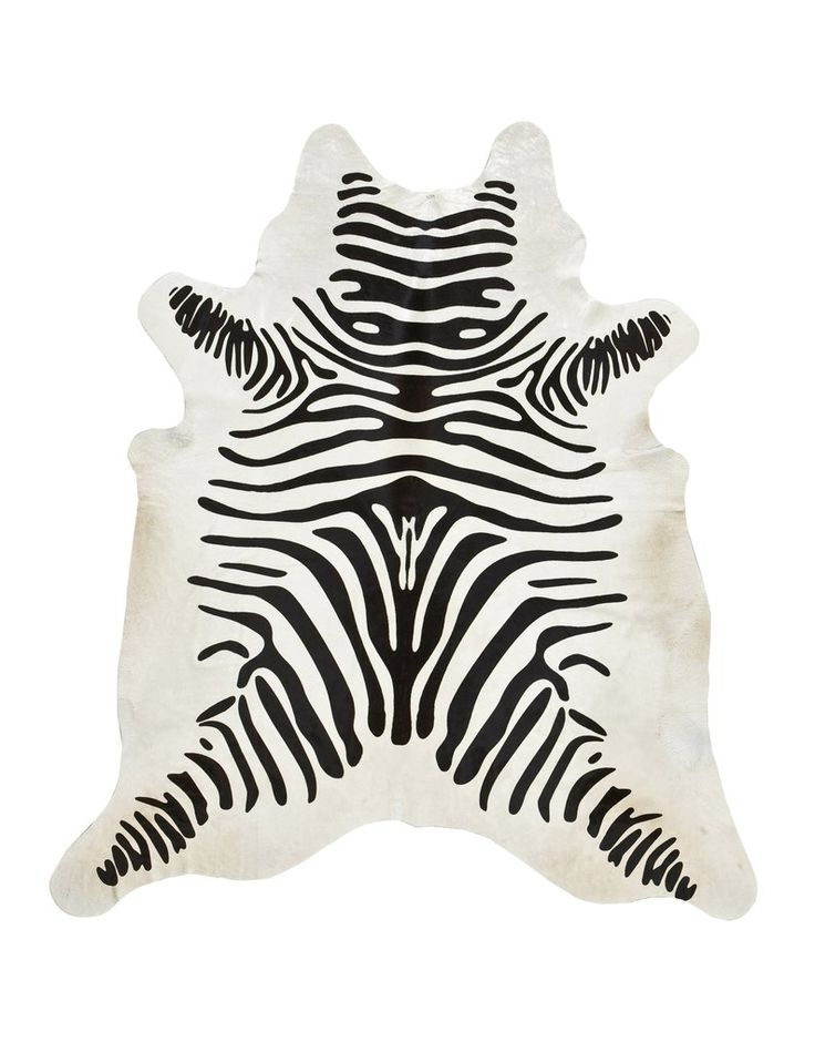 Bold and stylish, our premium black on off-white zebra print cowhide rugs are a perfect accent for the modern home or loft. Individually hand selected for their superior shine and softness, our hides