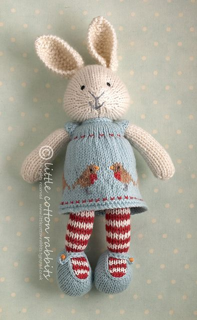 robyn | Flickr - Photo Sharing!  Another pretty bunny, dressed for a special occasion.