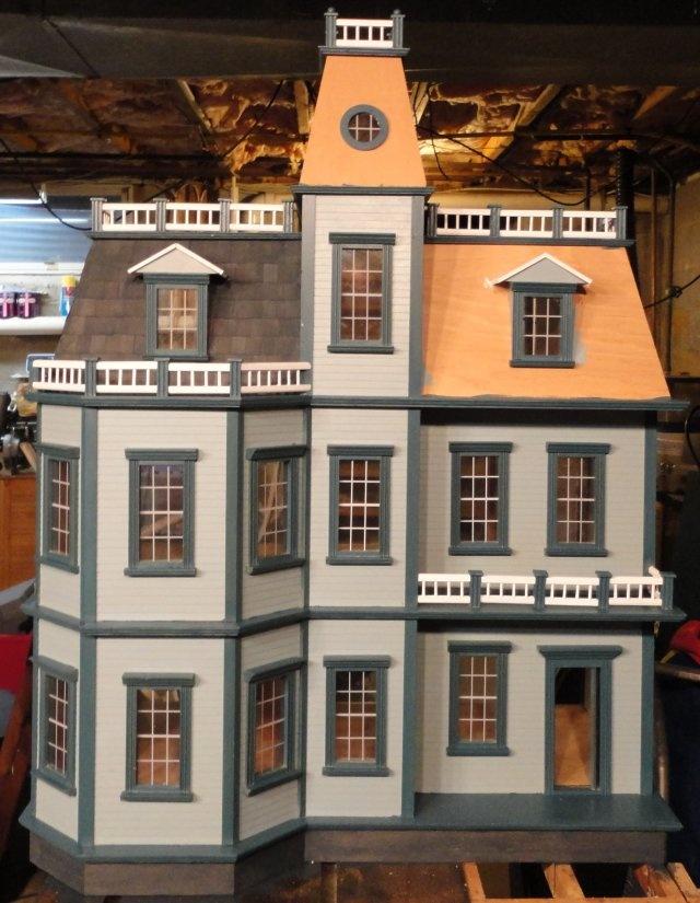 1752 best dollhouses artistic unique images on pinterest for Unique doll houses