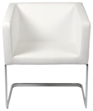 ari lounge chair white modern outdoor chaise lounges inmod