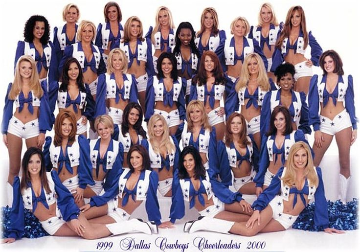 Dallas Cheerleaders 1990