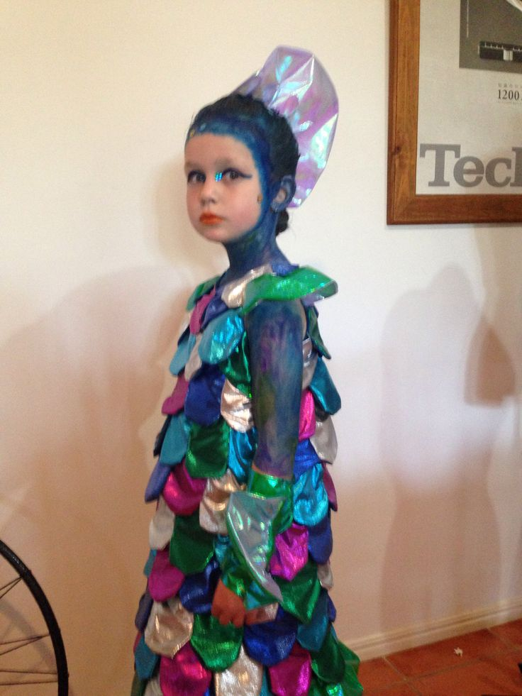 The rainbow fish for book week