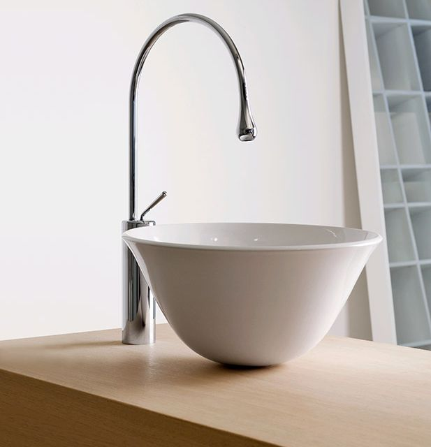 gessi goccia single lever washbasin spout