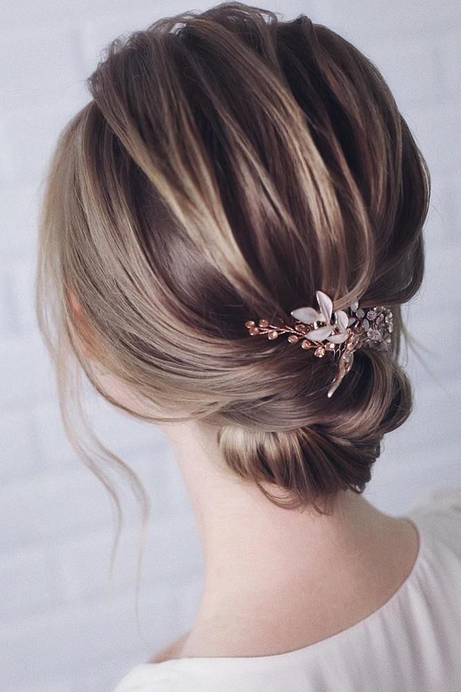 Inspiration For Wedding Updos For Short Hair Length Wedding Forward Short Wedding Hair Thick Hair Styles Long Hair Styles