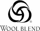 The Wool Blend logo: This indicates that the product contains 30%-49% pure new #wool. #woolmark