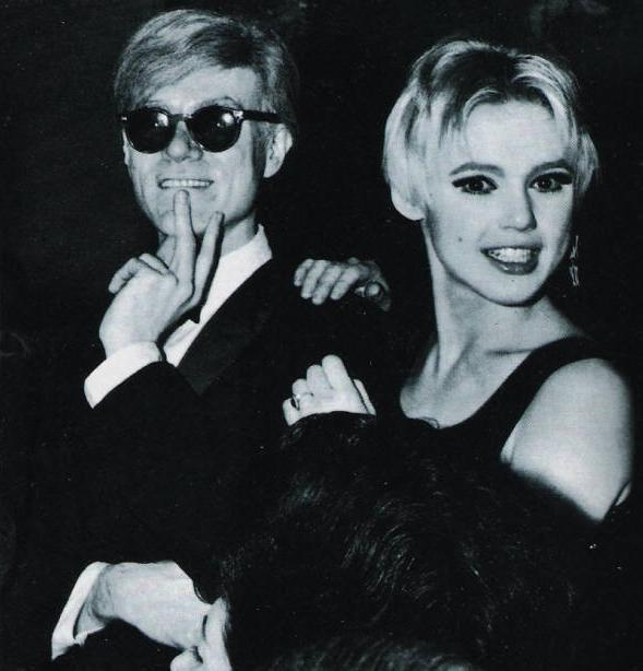 Edie Sedgwick and Andy Warhol  #Factory #Warhol