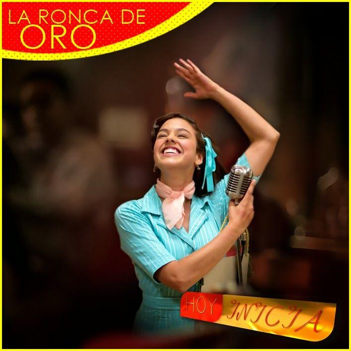 Hoy Inicia La Ronca De Oro, esta nueva serie que relata la vida de la cantante de rancheras Helenita Vargas. Majida Issa y Ana María Estupíñ...