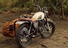 Suzuki GN125 Scrambler by Psycho Racer, Costa Rica