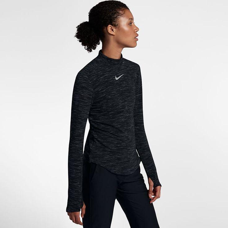 Nike Dry Camiseta de golf de manga larga - Mujer