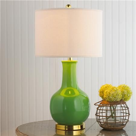 Classic Ceramic Bottle Table Lamp - 6 colors : Living Room