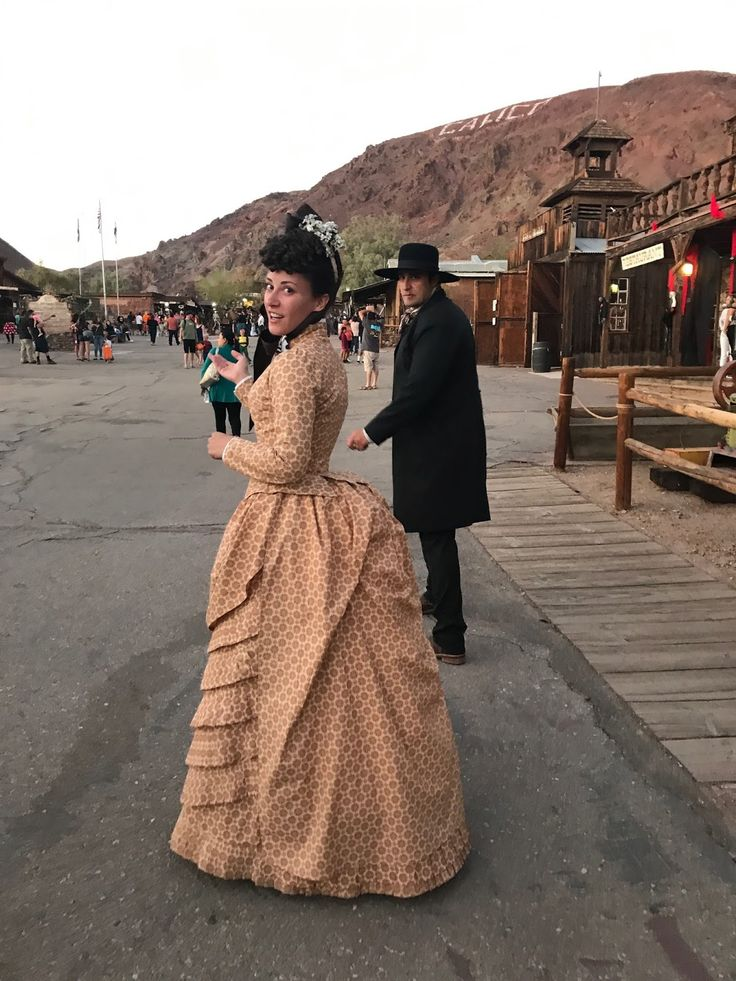 Dressed in Time: An 1880's Dress for a Halloween Outing