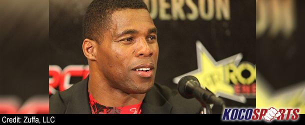 NFL player turned MMA fighter, Herschel Walker, comments on the competition difference - http://kocosports.com/2012/08/21/mixed-martial-arts/nfl-player-turned-mma-fighter-herschel-walker-comments-on-the-competition-difference/: Martial Art