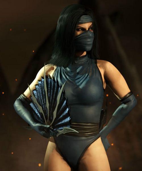 Mortal Kombat X Render Princess Kitana/ Mk2 Outfit