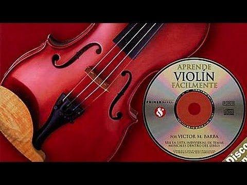 Tutorial Como tocar el Violín - Aprende Violin Facilmente - Victor M. Barba (1-5) - YouTube