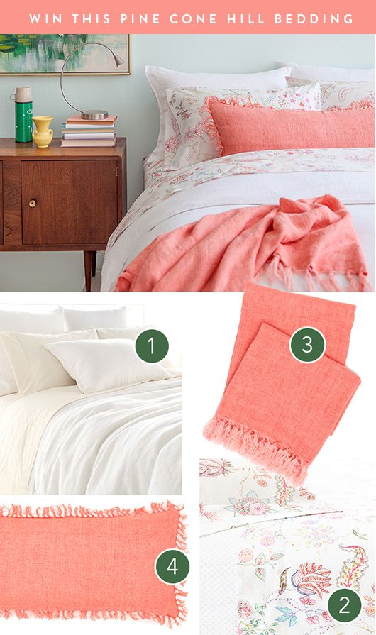 pine cone hill | bedding giveaway / sfgirlbybay..too cute!