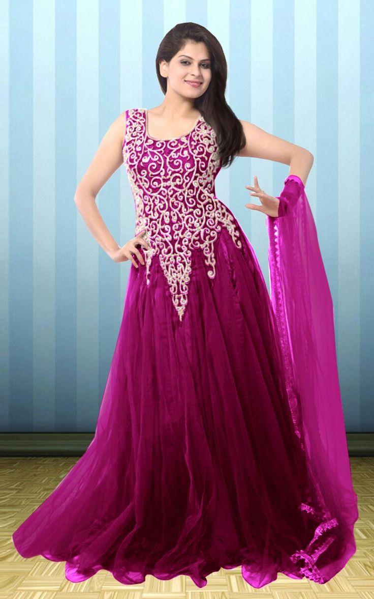 Mejores 21 imágenes de Women Gowns en Pinterest | Vestidos de ...