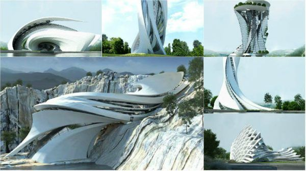 The architecture goes so further than any brain of ordinary human can handle. The architects and designers create those marvelous solutions so futuristic and unusual that is thrilling view. The gallery bellow slap me...