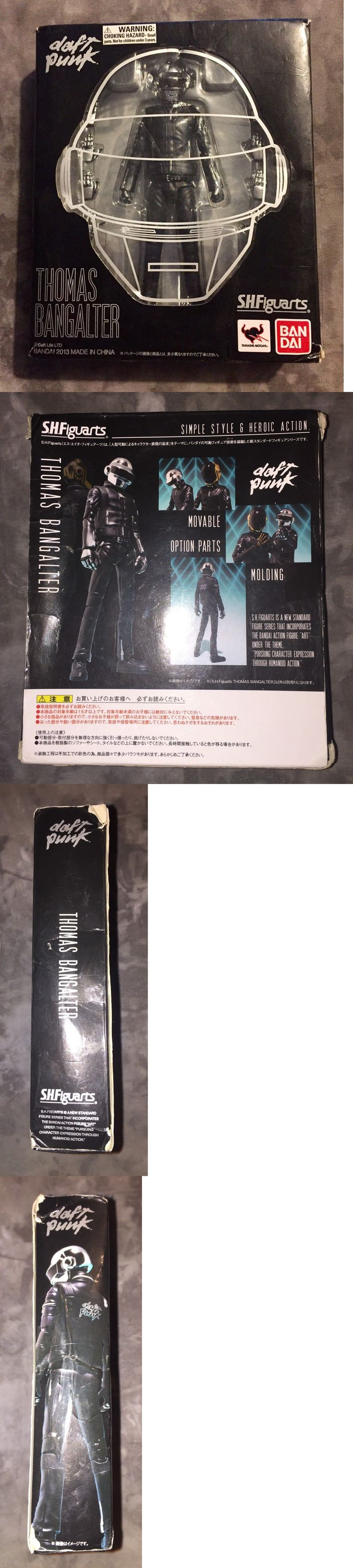 Music 175691: S.H.Figuarts Bandai Daft Punk Thomas Bangalter Movable Action Figure Complete! -> BUY IT NOW ONLY: $75 on eBay!