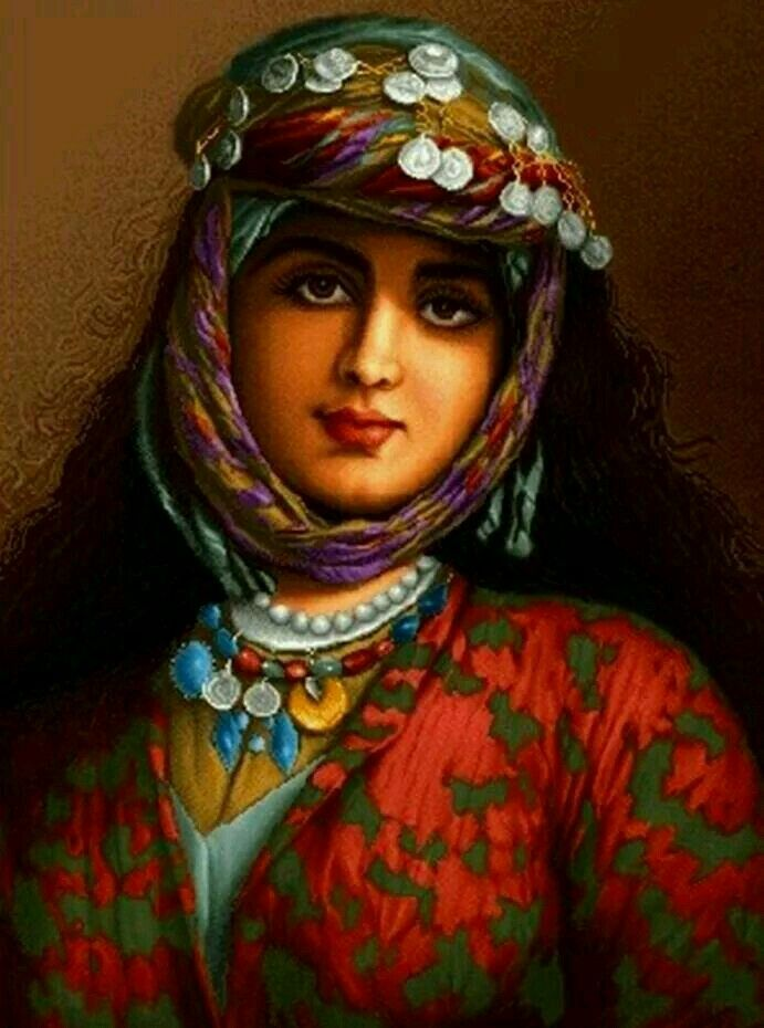 Traditional style kurdish girl❤