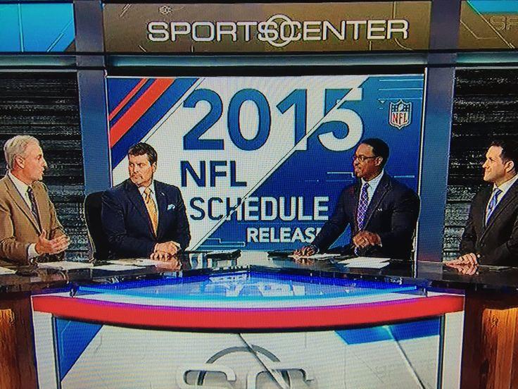 ESPN SportsCenter Special with Trey Wingo, Mark Schlereth, Brian Dawkins and Adam Schefter