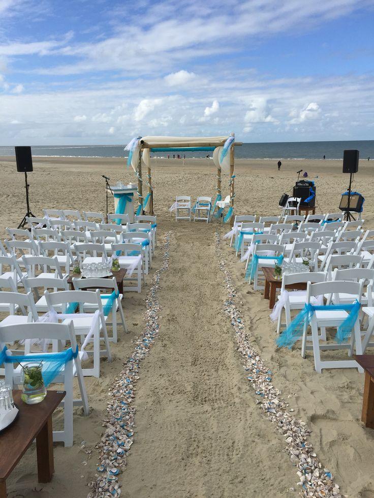 Strandhuwelijk in Renesse