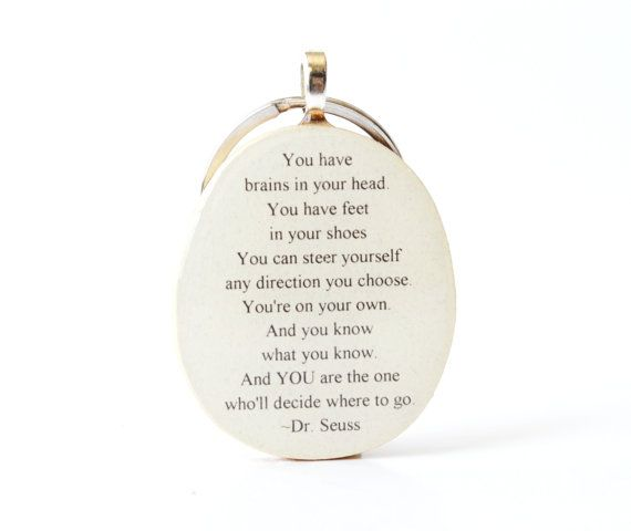 12 best gifts images on pinterest diy presents gift ideas and dr seuss keychain graduation gift grads going away gift graduation favors class of 2014 key charm solutioingenieria Choice Image