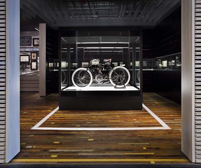 Harley Davidson Museum Museum Exhibition Pinterest