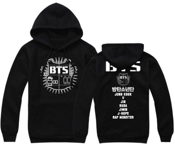 Kpop Bts Sweater Monster Jin Suga Jimin V Hoodie Unisex
