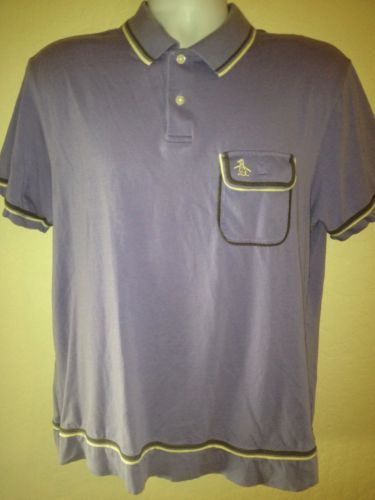 PENGUIN-GENTLEMANS-FIT-POCKET-POLO-Very-Nice-MENS-M