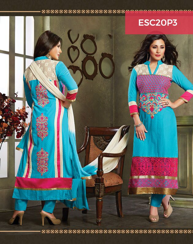 Monday Dhamaka Deal!! Ultimate Rimi Sen Blue Pink Cotton Suit for just Rs 1399/- Shop now @ http://www.enasasta.com/deal/rimi-sen-blue-pink-cotton-suit Call or Whatsapp @08288886065