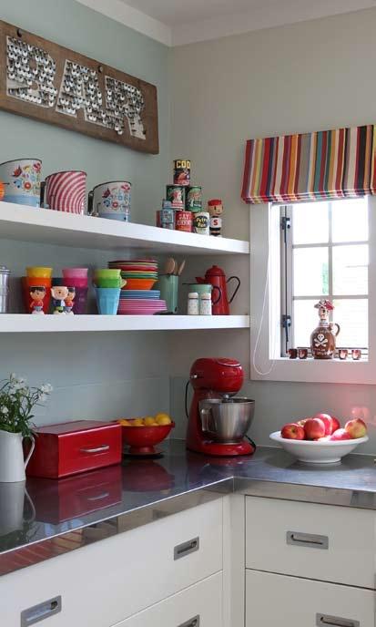 Kitchen in Resene Periglacial Blue