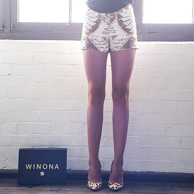Our sequin shorts are perfect for any night out - Winona Australia
