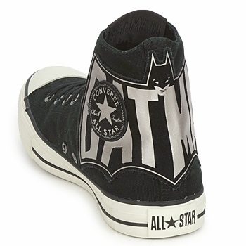 Converse ALL STAR BATMAN COMIC PRINT HI Noir / Argent  http://www.spartoo.com/Converse-ALL-STAR-BATMAN-COMIC-PRINT-HI-x104320.php