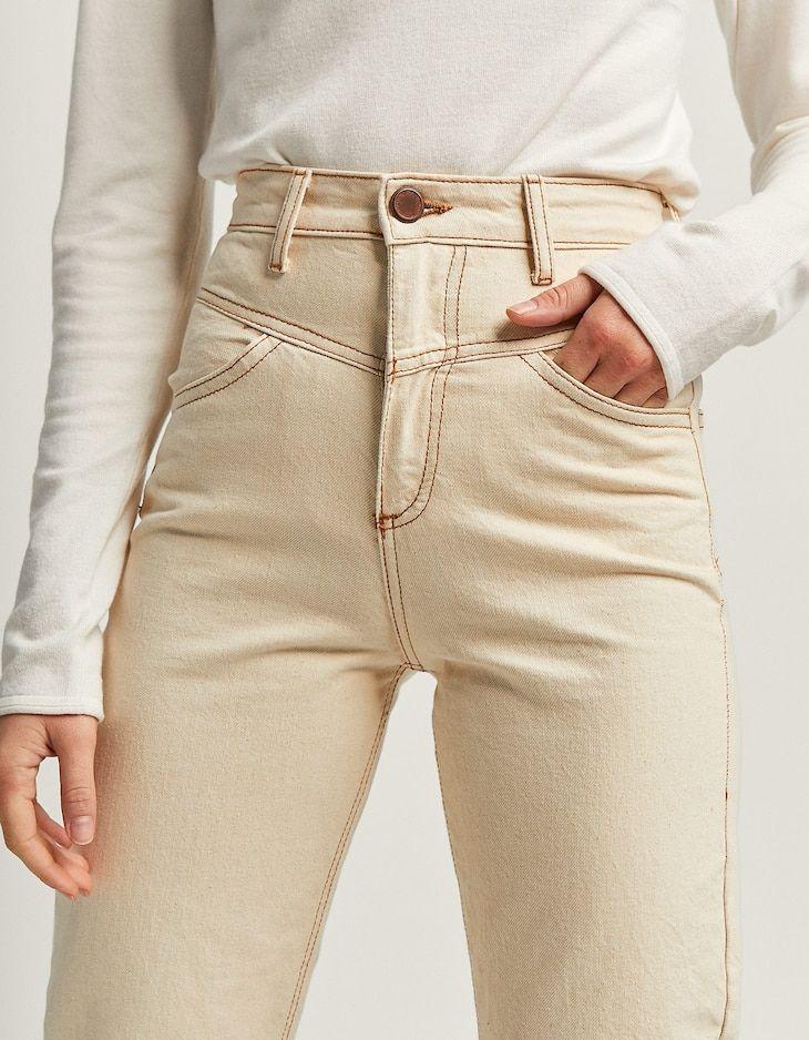 b47f9779c40 Front yoke mom fit jeans - Джинси - ЖЕНИ