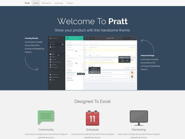Pratt Landing Page