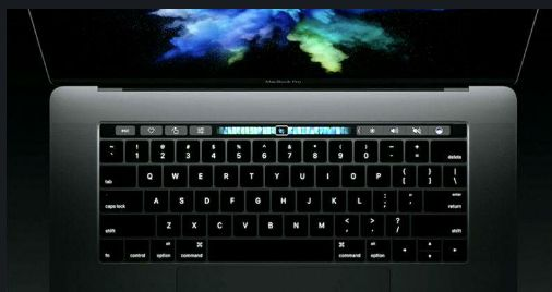 Check Out Apple's New Macbook Pro Touchbar